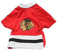 Chicago Blackhawks Pro Dog Jersey